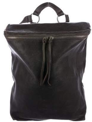 Tagliovivo Leather Zip Backpack