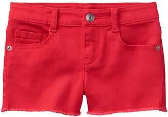 Crazy 8 Crazy8 Frayed Denim Shorts