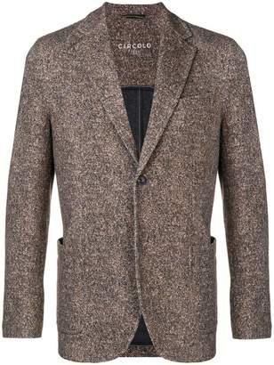 1901 Circolo patterned blazer jacket