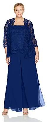 Emma Street Women's Plus Size Lace Suit Combo