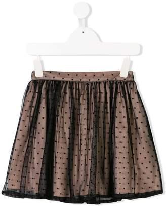 Vivetta Kids heart tutu skirt