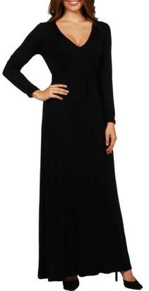24/7 Comfort Apparel Long Cool Woman Maxi Dress