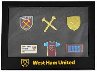 West Ham United FC Official 6 Piece Badge Set
