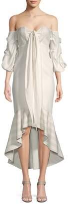 Alexis Women's Off-Shoulder Flounce Dress