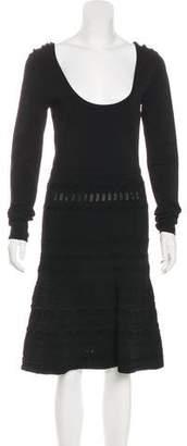 Rachel Zoe Knit Midi Dress