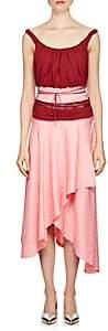 J.W.Anderson WOMEN'S BEADED COLORBLOCKED ASYMMETRIC DRESS