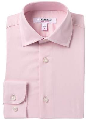 Isaac Mizrahi Solid Pink Shirt (Toddler, Little Boys, & Big Boys)\n