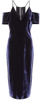 Roland Mouret Exclusive to mytheresa.com – Goldney velvet dress