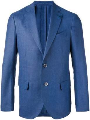 Lardini notched lapel blazer