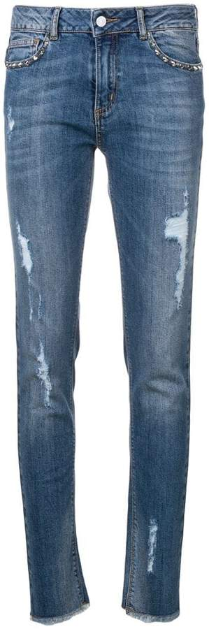 Zadig&Voltaire distressed skinny jeans