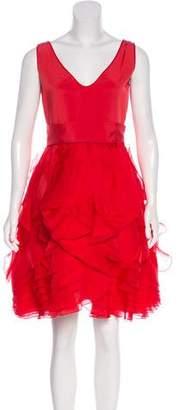 Zac Posen Silk Cocktail Dress