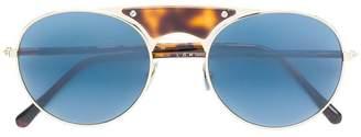L.G.R aviator shaped sunglasses