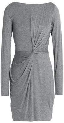 Bailey 44 Twist-Front Stretch-Jersey Mini Dress