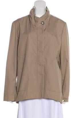 Brunello Cucinelli Long Sleeve Button-Up Jacket