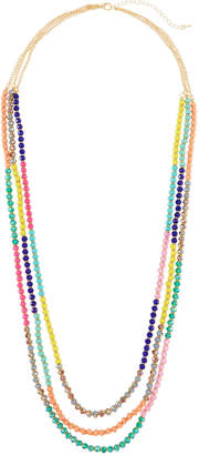 Emily and Ashley Greenbeads By Long Multi-Strand Necklace w/ Beads