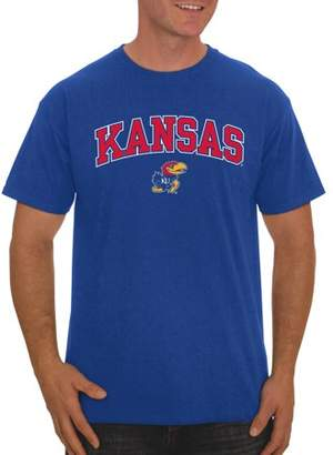 NCAA Russell Kansas Jayhawks, Men's Classic Cotton T-Shirt