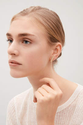 Cos METAL STUD EARRINGS