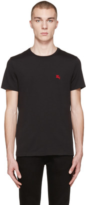 Burberry Black Tunworth T-Shirt $105 thestylecure.com