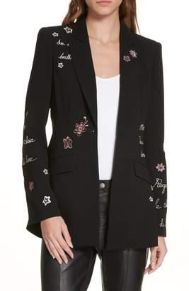 Cinq à Sept Estelle Embroidered Jacket