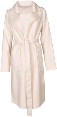Michael Kors Belt-wrapped Coat