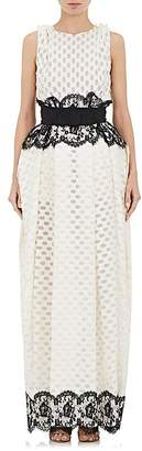 Lanvin WOMEN'S CLOQUÉ & LACE WEDDING GOWN