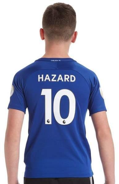 Chelsea FC Home 2017/18 Hazard #10 Shirt Junior