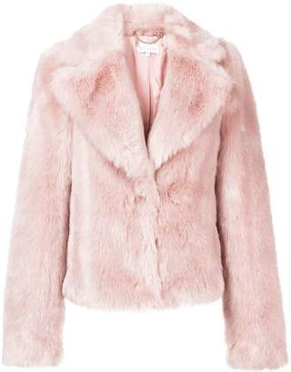 Patrizia Pepe furry cropped jacket