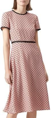HOBBS LONDON Maria Polka-Dot Dress $315 thestylecure.com