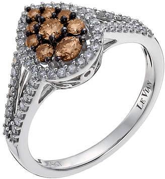 Le Vian 14ct white gold white & Chocolate Diamond ring