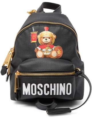 Moschino Eco Leather Teddy Bear Backpack