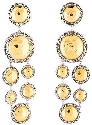 John Hardy Two-Tone Palu Drop Earrings