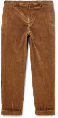 Undercover Tapered Cotton-Corduroy Trousers