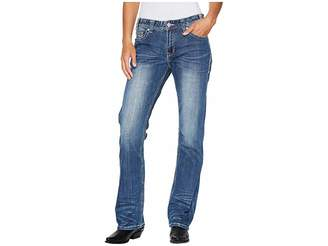 Rock and Roll Cowgirl Boyfriend Fit in Medium Vintage W2-4604 Women's Jeans