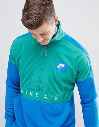 Nike Half Zip Windbreaker Jacket In Blue 918324-368
