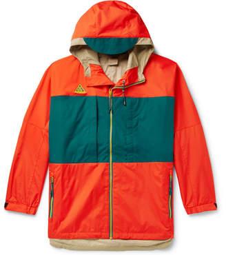 Nike Acg Colour-Block Ripstop Hooded Anorak