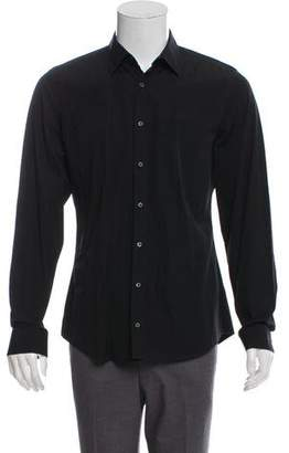 Gucci Woven Button-Up Shirt