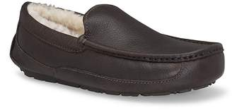 UGG Ascot Leather Slippers