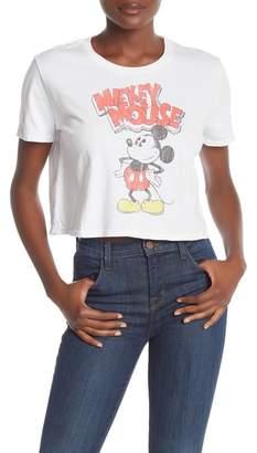 7c7a647dabab34 Recycled Karma Mickey Mouse Crop Tee