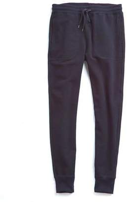 Todd Snyder Japanese Stretch Terry Sweatpant in Navy