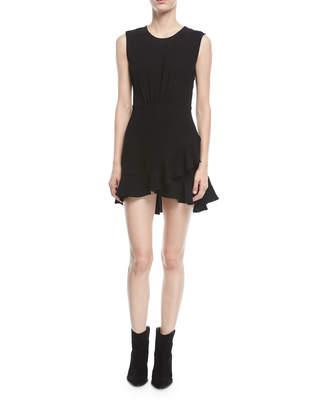 IRO Arcas Sleeveless Fit-and-Flare Mini Dress
