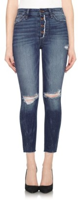 Women's Joe's Collector's - Charlie High Rise Crop Skinny Jeans $198 thestylecure.com