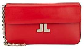 Lanvin Women's JL Small Leather Crossbody - Red