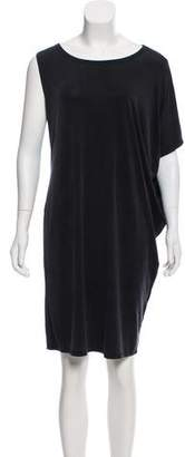 MM6 MAISON MARGIELA One-Shoulder Short Sleeve Dress