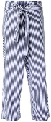 P.A.R.O.S.H. striped cropped trousers