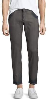 Dolce & Gabbana Men's Garment Dyed Straight-Leg Jeans