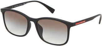 Prada Sport SPS 01T Black Square Sunglasses