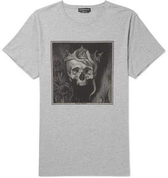 Alexander McQueen Oversized Printed Cotton-Jersey T-Shirt