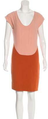 Diane von Furstenberg Sleeveless Colorblock Dress
