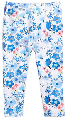 First Impressions Flower Printed Leggings