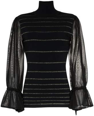 Roksanda Aril stripy knitted turtleneck jumper